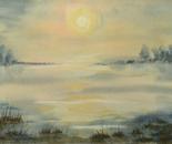 sunrise lakeside landscape 645