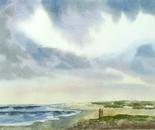 cloudy coastline landscape 650