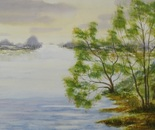 lakeside landscape 656