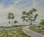 landscape road painting 670