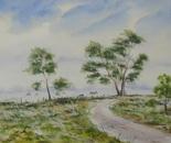 landscape road painting 670