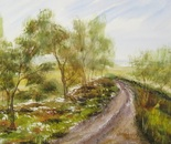 road landscape painting 671