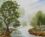 riverside landscape 672