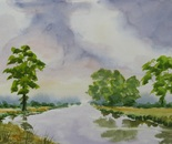 river landscape 683