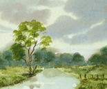 river landscape painting 696