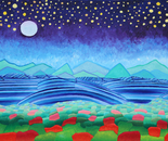 Nighly Scene, Stormy Currents