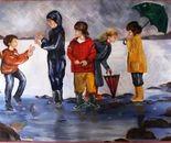 CHILDREN IN THE RAIN