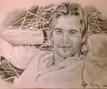 Paul Walker portrait
