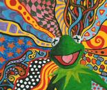 Kermit on acid