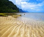 Low Tide at Kee Beach, Kauai