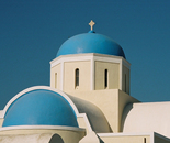 Blue-domed Church I