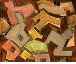 """LE CARROUSEL Acrylics on canvas 81x100cm/32x51"""" 2013"""