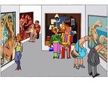 "CELEBRATING PICASSO Digital print 100ex 21x30cm/8x12"" 2013"