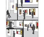 """LA RETROSPECTIVE Digital print 100ex 30x21cm/12x8"""" 2011"""
