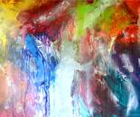 COLOR FUSION - 122 x 183 x 4 cms $3,500