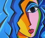 Artgirl Blue