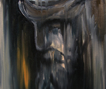 HU ZHIYING  Plato, 2004, Oil on canvas, 50×40  cm