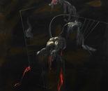 HU ZHIYING  Figure(1), 2010, oil,  acrylics on canvas,  200×170cm