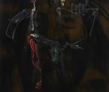 HU ZHIYING  Figure(2), 2010, oil,  acrylics on canvas,  200×170cm