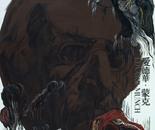 HU ZHIYING  Artist Achieve---Edvard Munch, 2012, oil, acrylics on canvas, 200×170 cm