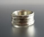 Organic Sterling Ring