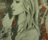 Barbara Streisand portrait