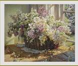 Basket of spring perfumes