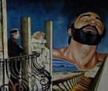 An Irony of Destiny - 1994  Oil on Canvas, 60/50 cm