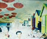 Four Seasons in One Day - 1992   Oil on Canvas, 137/107 cm