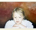 Vaska in White Shirt - 2001   Oil on Canvas, 80/60 cm