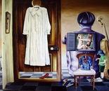 An Artistic Soul Slumber - 1990  Oil on Canvas, 122/107 cm