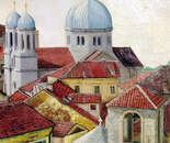 Kotor - 1990   Oil on Canvas, 50/60 cm