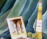 Latin Mode - 1992   Oil on Canvas, 50/60 cm