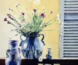 Still Life - 1992   Oil on Canvas, 50/60 cm.