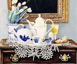 Breakfast - 1992   Oil on Canvas, 50/60 cm