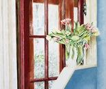 Red Door - 1992   Oil on Canvas, 50/60 cm