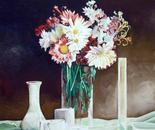 Spring Flowers - 1992   Oil on Canvas, 50/60 cm
