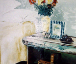 Bedroom Country Stile - 1992   Oil on Canvas, 50/60 cm