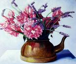Old Tea Pot - 1991   Oil on Canvas, 50/60 cm