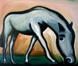 Horse - 1998   Oil on Canvas, 137/107 cm