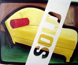 Sold - 1997   Oil on Canvas, 107/84 cm