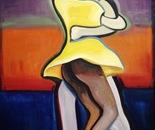 Dancers - 1998   Oil on Canvas, 107/137 cm