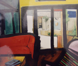 Living Room - 1997   Oil on Canvas, 84/107 cm