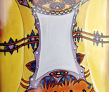 Exotic Mirror - 1998   Oil on Canvas, 122/137 cm