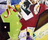 Broken Head - 1998   Oil on Canvas, 107/122 cm
