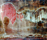 The Dual - 1970   Oil on Canvas, 84/51 cm