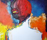 Teardrops in October, 02/1,  2010, Oil on Canvas, 61/61cm