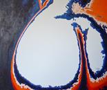 Butterfly Waltz 3/1, 2010, Oil/Acrylic on Canvas, 61/61 cm