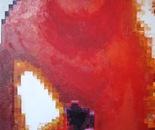 Bird Nest  04/1,  2010,  Oil on Canvas, 50/60 cm.