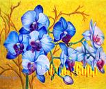 Blue Orchids #2